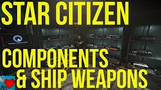 Star Citizen 3.2 Gameplay - Components Guide & Ship Upgrades