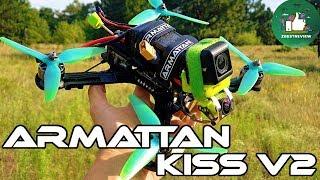 ✔ Облет Дорогого FPV Freestyle Квадрокоптера Armattan Marmotte + Kiss V2!