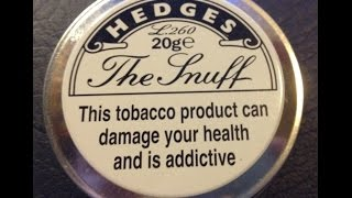 Nasal Snuff review Hedges L260
