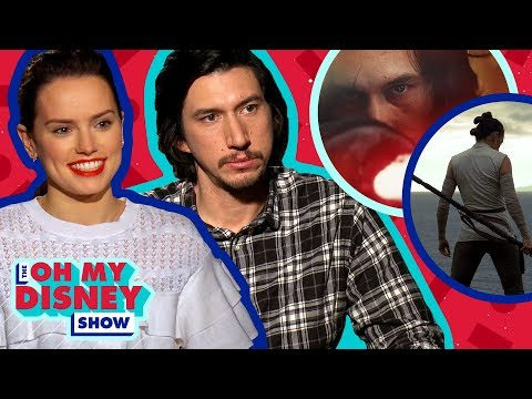 Daisy Ridley and Adam Driver Talk About Working Together on Star Wars: The Last Jedi