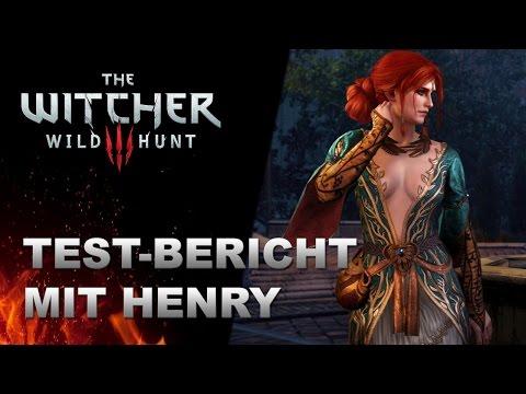 THE WITCHER 3: Der finale Test mit Henry Ernst