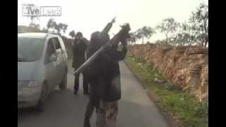 Syria Helicopter Shot Down While Reporters Filming