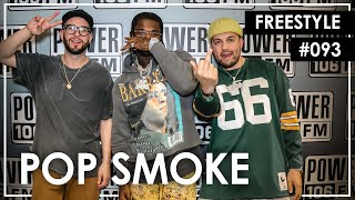 "Pop Smoke Freestyles Over 50 Cent's ""Not Like Me"" - L.A. Leakers Freestlye #093"