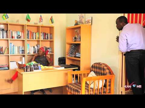 The boss copycat. Kansiime Anne.  African comedy
