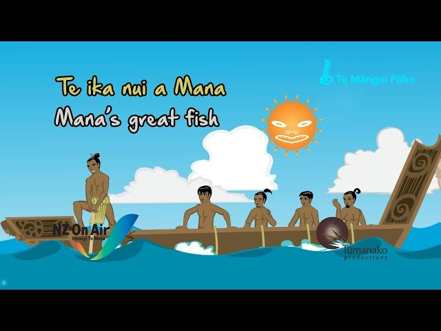 Mana's great fish (ENGLISH LANGUAGE)