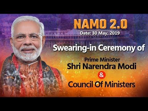 Shri Narendra Modi takes oath as the PM of India for the 2nd consecutive term at Rashtrapati Bhavan