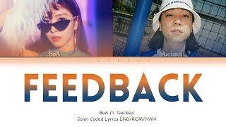 BoA   Feedback (ft.Nucksal) (Color Coded Lyrics Eng_Rom_Han_가사)