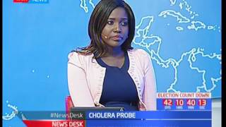 Prevention and control of suspected Cholera outbreak in Nairobi as Hon. Kidero probe's Weston Hotel