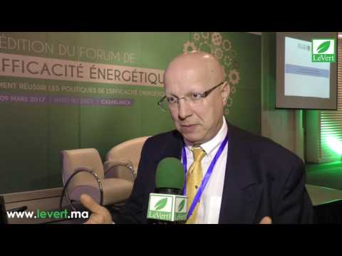 Mr Lebot at the Forum on Energy Efficiency in Casablanca (French)