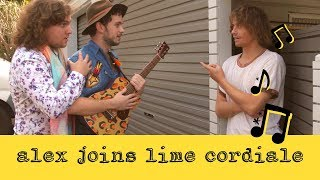 Alex The Indie Singer Joins Lime Cordiale