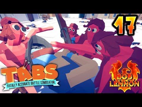 LES RACAILLES DU 93 !!! -Totally Accurate Battle Simulator- avec Bob Lennon