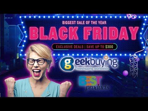 Geekbuying Black Friday Event has already begun !!!