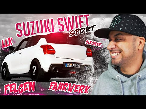 JP Performance - Flo's Suzuki Swift Sport   LLK, Felgen, Fahrwerk, Ölkühler