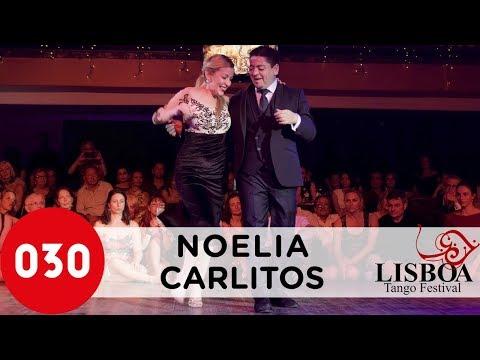 Noelia Hurtado and Carlitos Espinoza @ Lisbon Tango Festival 2018