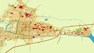 古地図で辿る名古屋400年No2 明治時代の幕開け、名古屋区時代[Network2010]