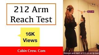 212 cm Arm Reach Test