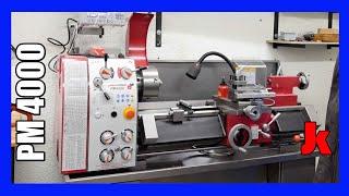 Die neue Drehmaschine (mal wieder) -Paulimot Pm4000