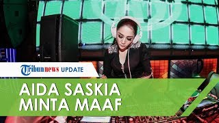 Dianggap Prank Minum Racun dan Live di Instagram, Aida Saskia Minta Maaf