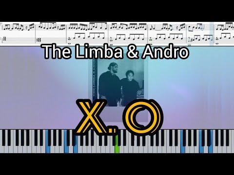 The Limba & Andro - X.O (на пианино + ноты | слова и midi)