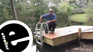 etrailer | Jif Marine Floating Dock Lift Ladder Review