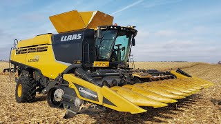 A New Claas Combine Harvesting!