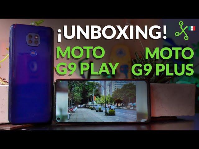 Moto G9 y Moto G9 Plus, unboxing, impresiones y precio en México