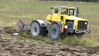 K-700 + Odessa ader künd / Ploughing with K-700 and Odessa`s plow