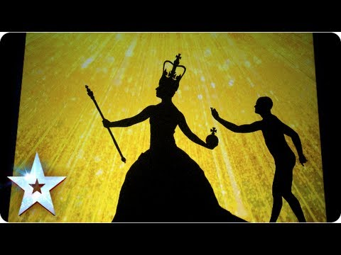 Фото Shadow theatre of Attraction with a Great British montage | Final 2013 | Britain's Got Talent 2013