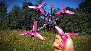 Stormer 220mm FPV Racing Drone Распаковка Обзор Первый Полёт