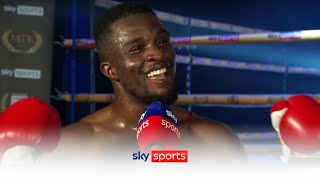 Ohara Davies reacts to being crowned the FIRST winner of the Golden Contract Tournament ????