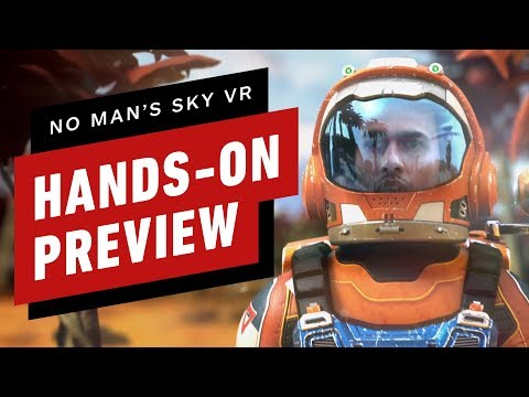 No Man's Sky VR Feels Like a Completely Different Game