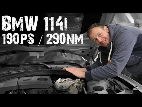 OK-Chiptuning - BMW 114i F20-21 (N13) Softwareoptimierung 190PS/290Nm   Stage 1