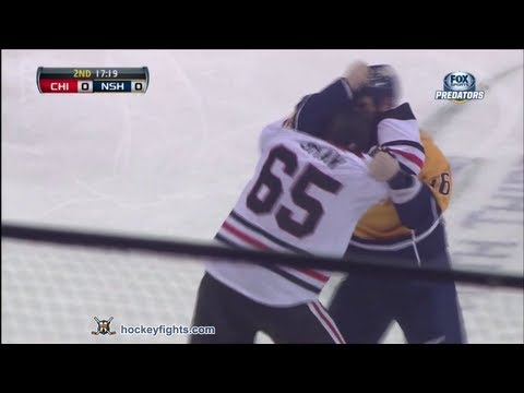 Richard Clune vs. Andrew Shaw