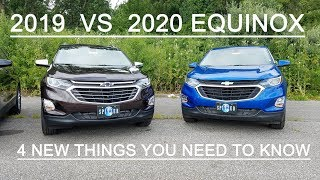 2019 Chevy EQUINOX vs 2020 Chevy EQUINOX - 4 BIG DIFFERENCES - Here is what's new!