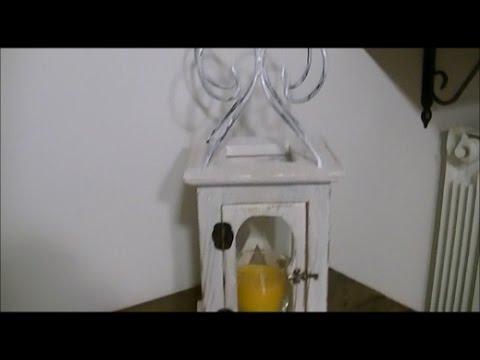 🔨 Lanterna in legno riciclato da bancali pallet pedane fai da te hobby ✔