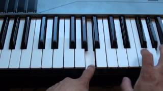 How to play the cups song on piano - When I'm Gone from Pitch Perfect Piano Tutorial