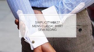 Tutorial For Men's Fitted Shirt By Mimi G With Simplicity Pattern 8427
