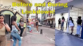 Wrong Route No Go Zone Bogotá Colombia Before And During Lockdown 2020
