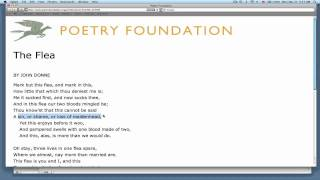 literary context metaphysical poets john donne video