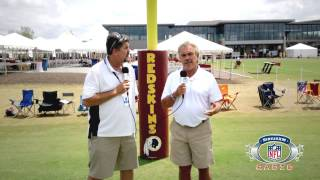 preview picture of video 'Washington Redskins - 2014 SiriusXM NFL Radio Training Camp Tour'