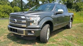 2015 Ford F-150 Platinum 4x4 SuperCrew - The Best Pickup...Ever?