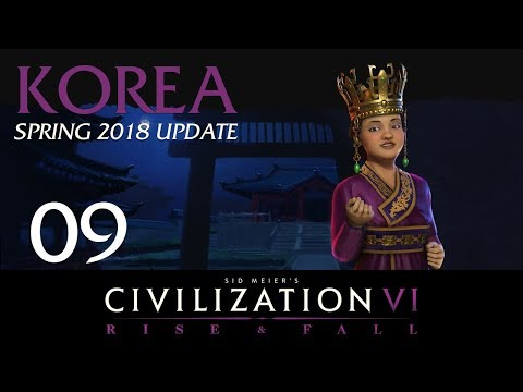 Let's Play Civilization VI: Rise and Fall as Seondeok on
