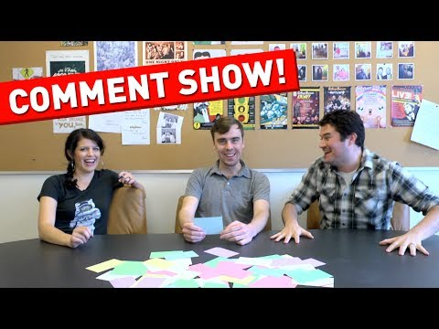 The First Ever CollegeHumor Comment Show