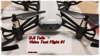 DJI Tello - Winter Video Test 1