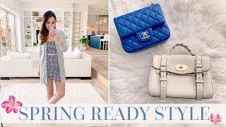 SPRING READY STYLE! MY FASHION AND LUXURY BAG FAVOURITES