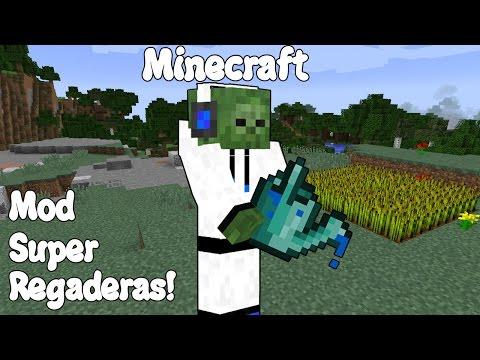 Minecraft 1.10.2 MOD SUPER REGADERAS! CTKor Watercan Mod Español!