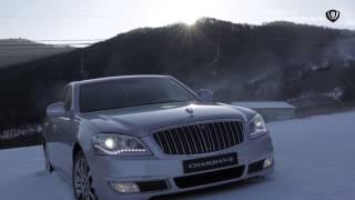 [ Enjoy the Snow! ] 체어맨W 대한민국 4WD 대형세단의 자존심, 체어맨W의 카리스마 넘치는 스키 슬로프 질주 영상.