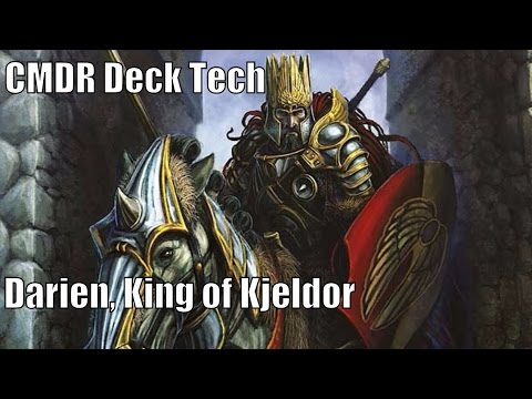 Victor's Darien, King of Kjeldor CMDR Deck [EDH / Commander / Magic the Gathering]