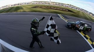 NASCAR - Kansas2014 Final Laps Busch Wins