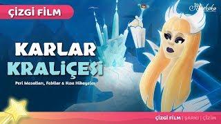 Karlar Kraliçesi Karlar Ülkesi Çizgi Film Türkçe Masal 6 | Adisebaba Çizgi Film Masallar